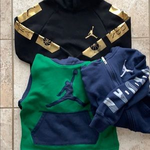 Jordan boys sweatshirt bundle